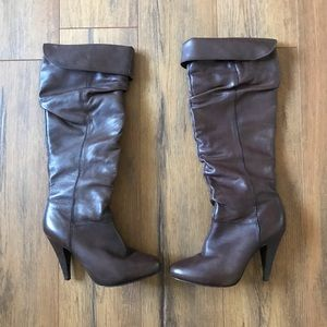 Aldo Heeled Boot | Brown | Dress-Casual